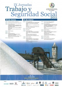 IX Jornadas Trabajo y Seguridad Social. Colegio Oficial de Graduados Sociales de Almería