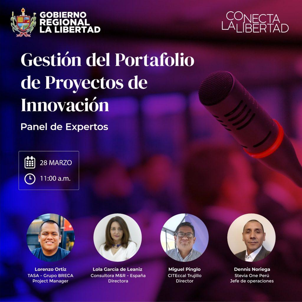 Imagen panel experto en Portfolio de proyectos de Innovación - M&R